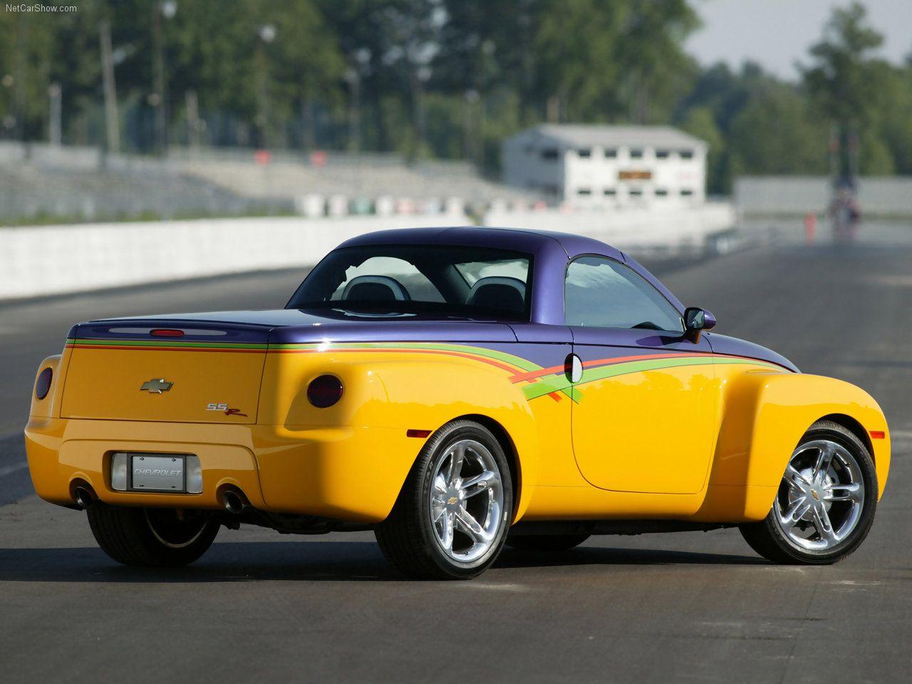 2003 Chevrolet Ssr Hot Rod Power Tour Concept Trucks Cars For