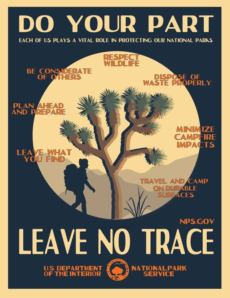 Leave No Trace Seven Principles Traveling by yourself