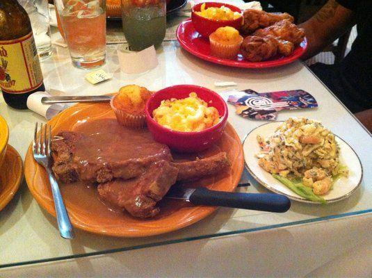 The Bar Yelp Soul Food Restaurant Seafood Salad Food Network Recipes