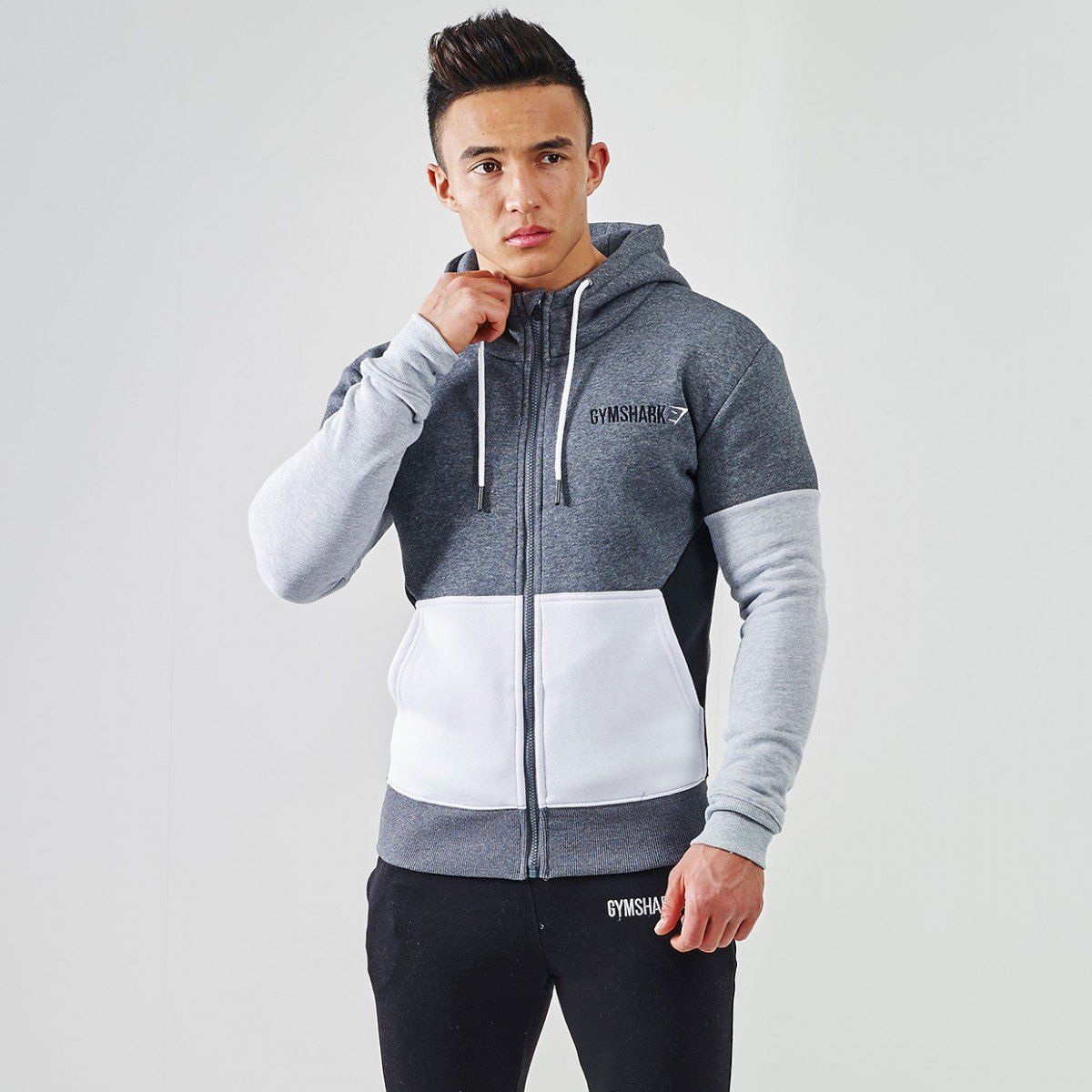 Gymshark Fit Frontier Thermal Hoodie Black Hoodies