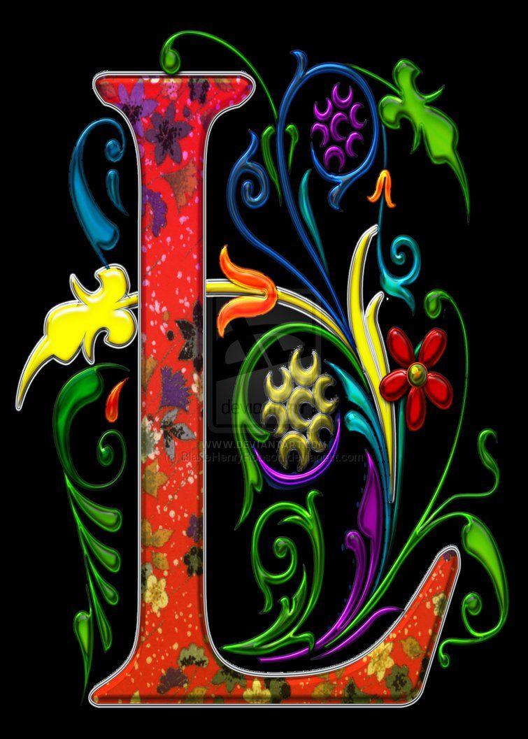 Regal Letter L Monogram Art by BlakeHenryRobson on DeviantArt