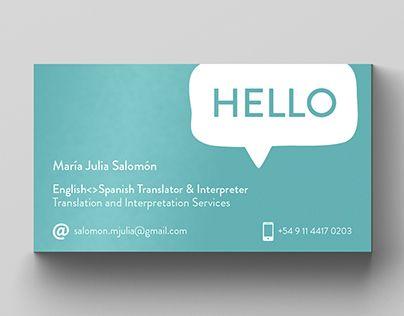 Resultado De Imagem Para Business Card Translator With Images