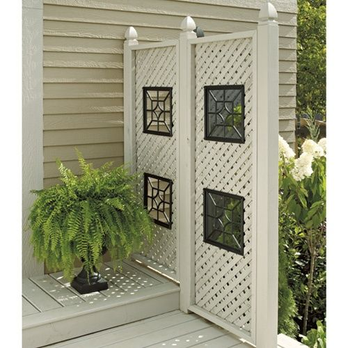 lattice framed rona - google search | out door ideas | pinterest ... - Patio Lattice Ideas