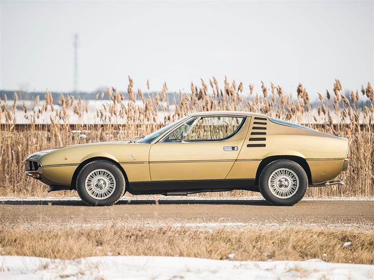 Classic 1972 Alfa Romeo Montreal For Sale In Ontario With
