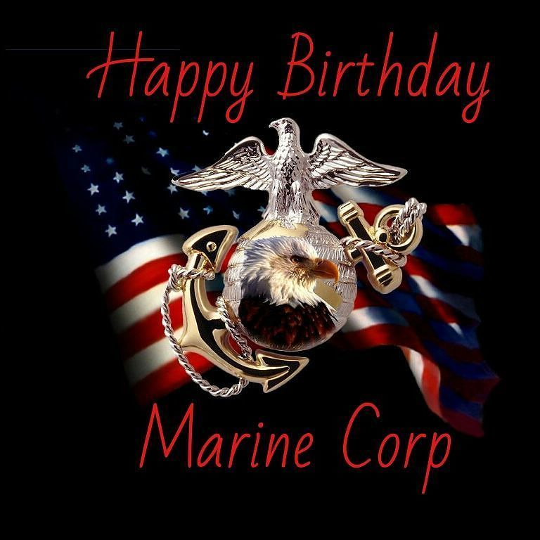 Happy Birthday Marine Corp Happy Birthday Marines Marine Corps Birthday Marine Corps