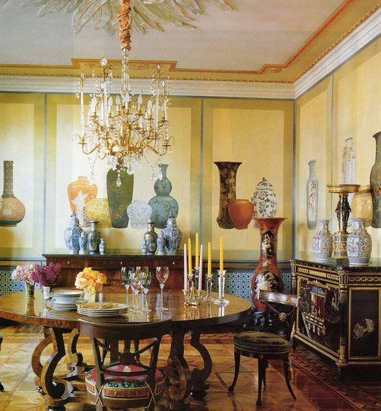 Milanese Apartment Of Donatella Versace. Not Sure About