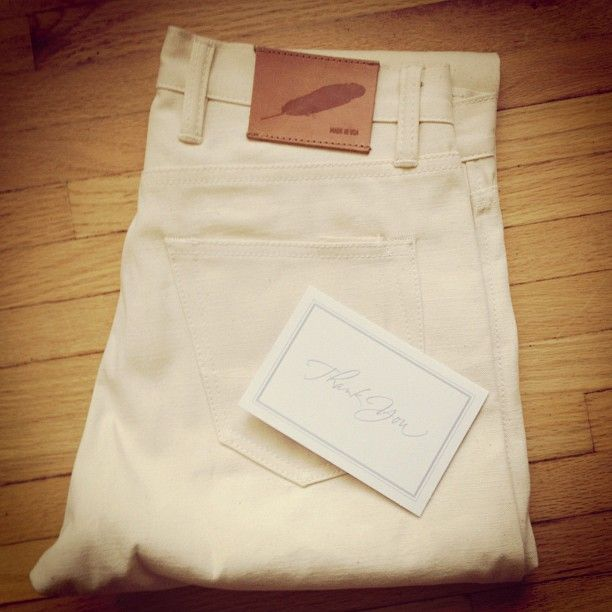 Raleigh Denim- I need white jeans