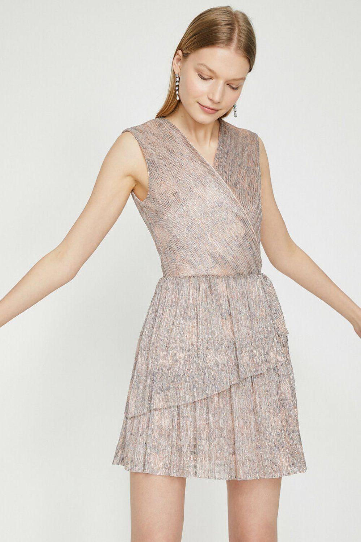 Koton Desenli Karma Mini Elbise Elbisebul Mini Elbise Elbise Elbiseler