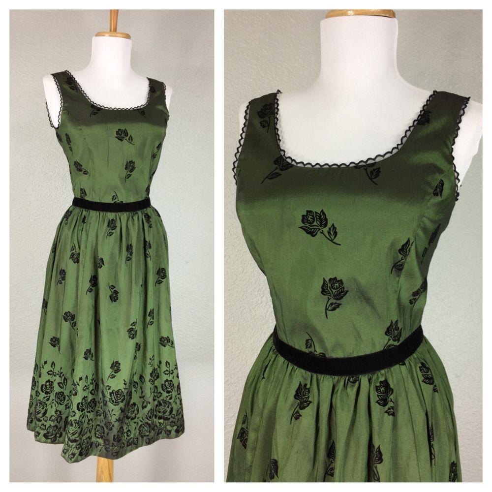 Twilight New Moon Bella Swan Birthday Dress Size S Emerald Green Black Roses Tipos De Vestidos Vestidos Los Tipitos [ 1000 x 1000 Pixel ]