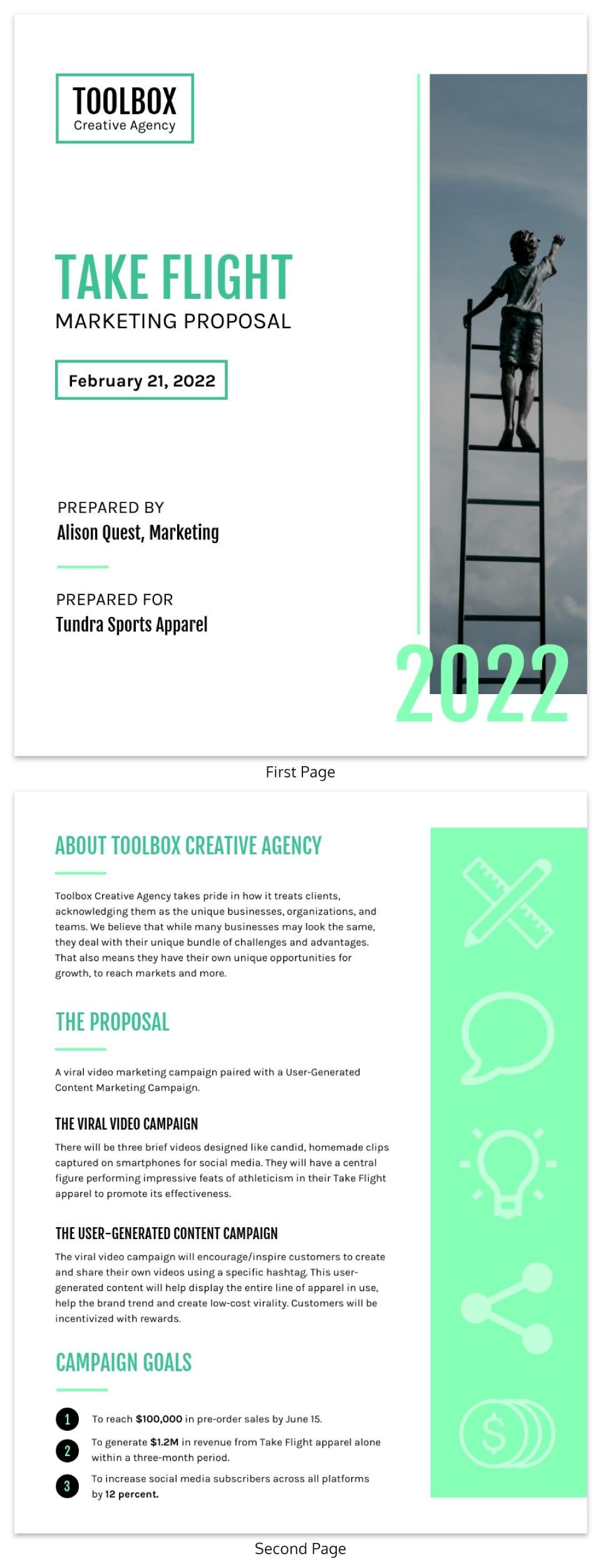 How to Write a Business Proposal (Examples & Templates