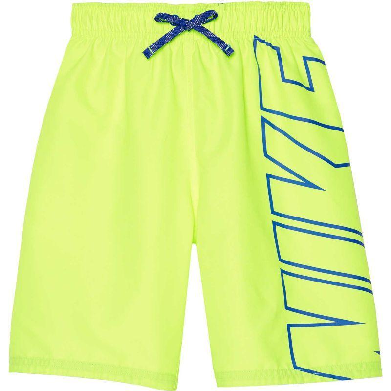 Akula Boys Printed Swim Trunks Beach Board Shorts with Pockets