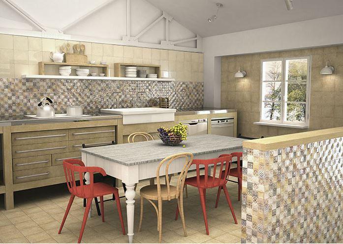 Mainzu #Milano Crema A 20x20 cm #Keramik #Zement-Effekt #20x20 - ikea küchen angebote