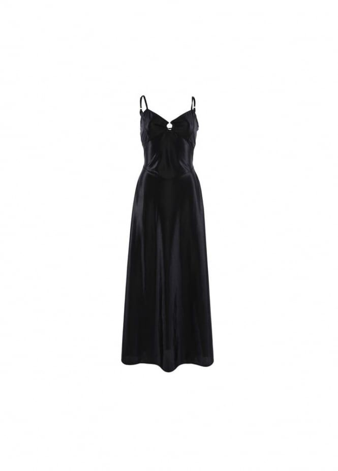 Steampunk maxi dress