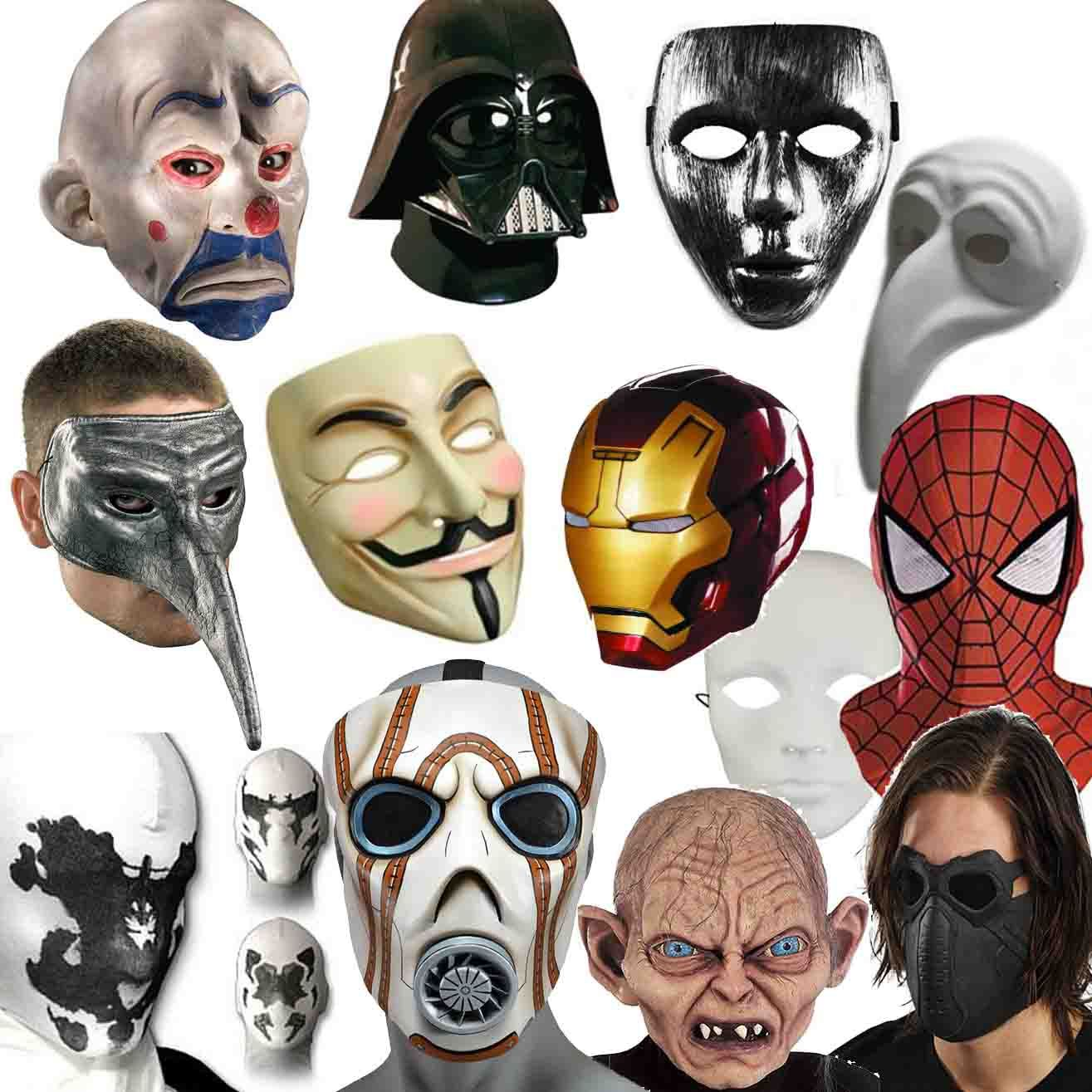 Rock out as Spiderman or Golum, or grab your whole crew V for ...