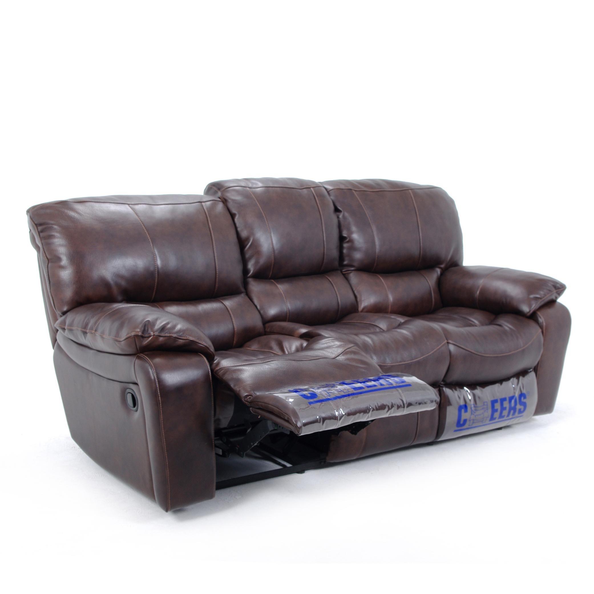 U8625 Reclining Leather Sofa By Cheers Sofa Sofa Top Grain