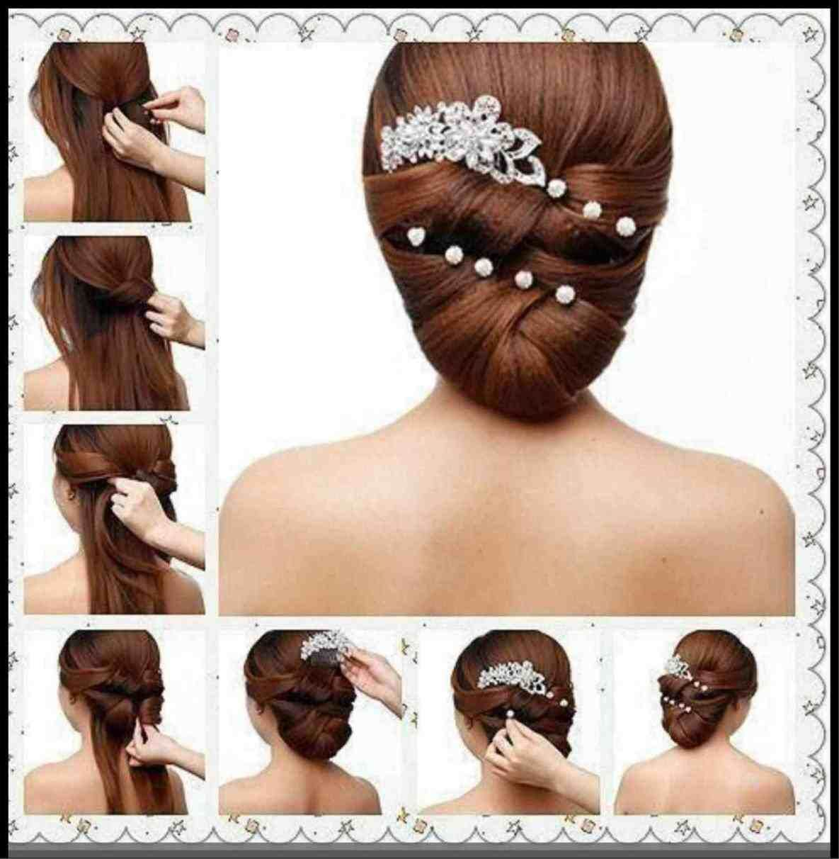 How To Make A Simple Hairstyle For Party Step By Step