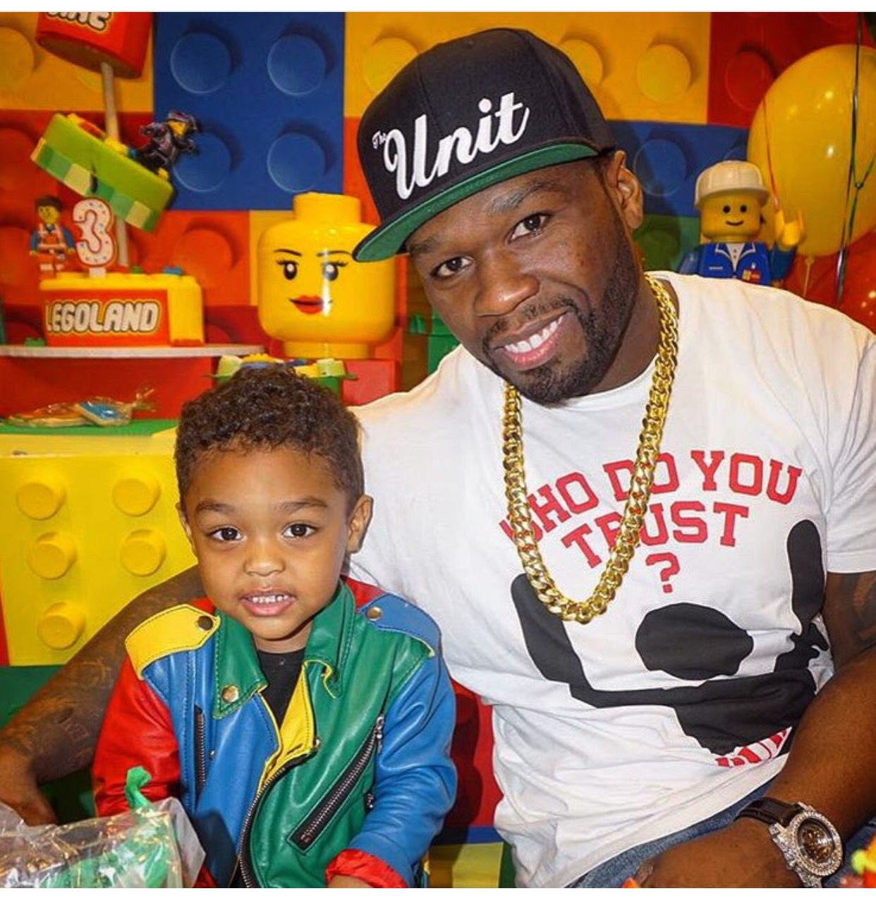 50cent His Son With Images Celebrities Kids Party Wear