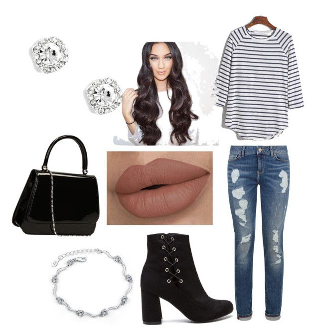 """dinner"" by kianaawilliams on Polyvore featuring Tommy Hilfiger"