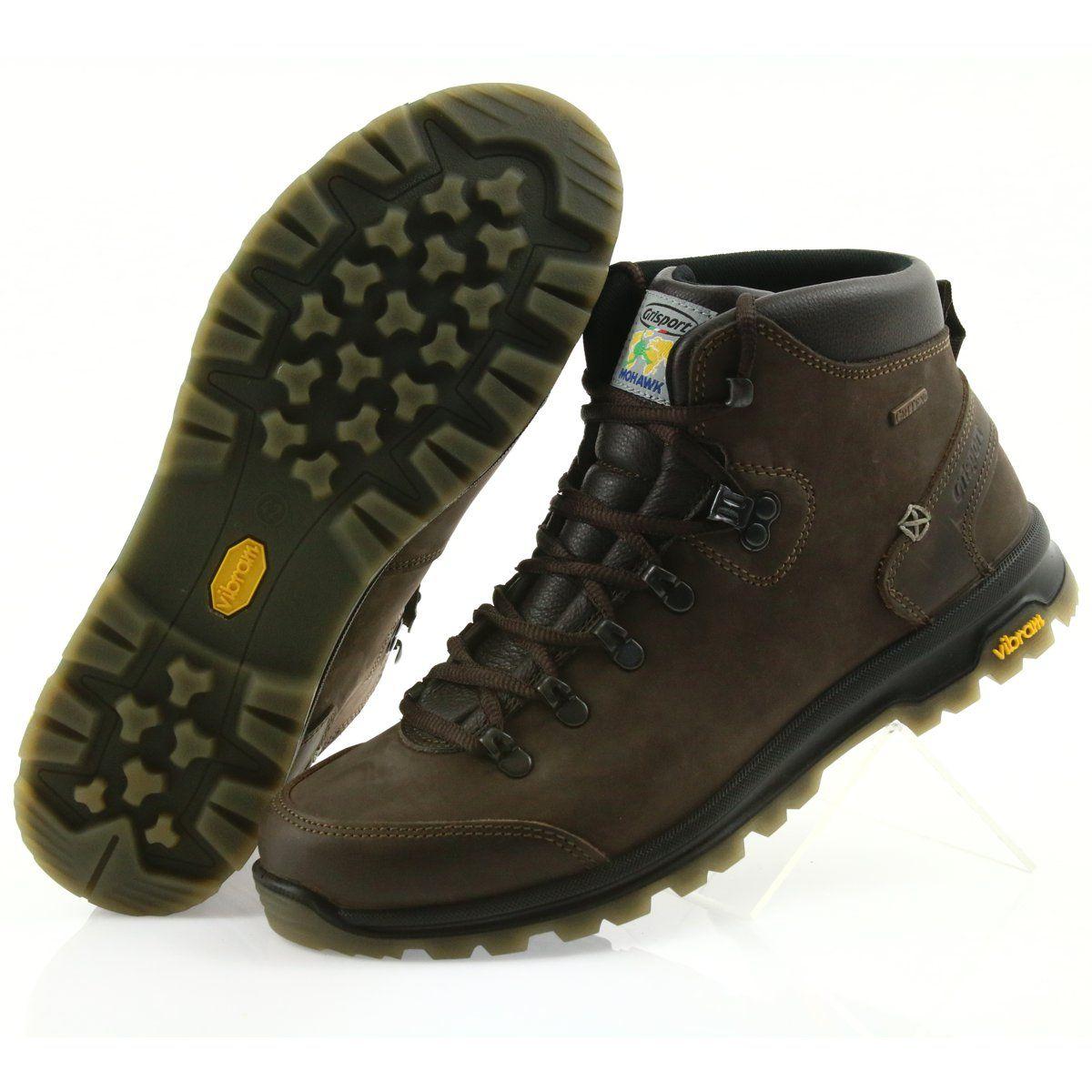 Grisport Brazowe Buty Trekkingowe Trekking Shoes Shoes Hiking Boots