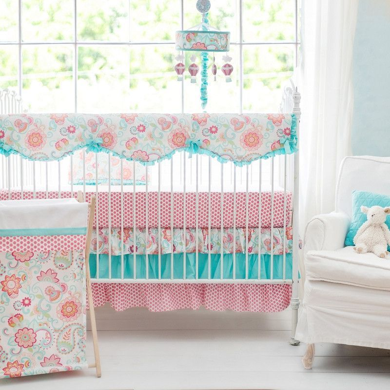 Crib Mobiles Gypsy Baby Paisley Bedding Set
