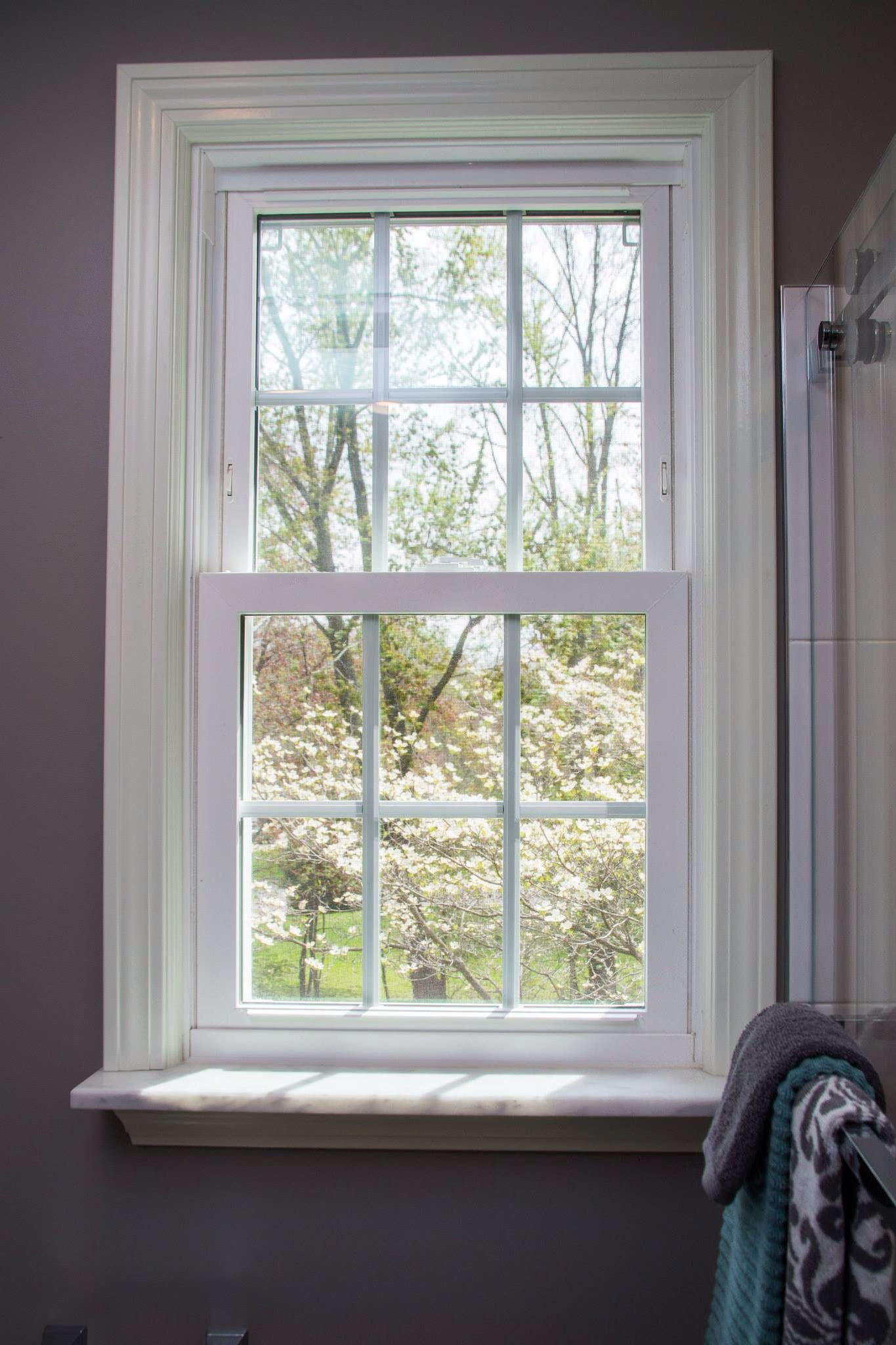 Kitchen window without sill  marble window sill  crown moulding  pinterest  marble window sill