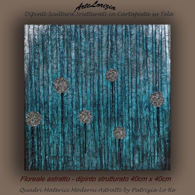 Quadri Materici Moderni Astratti - Pittoscultura - Arte ...