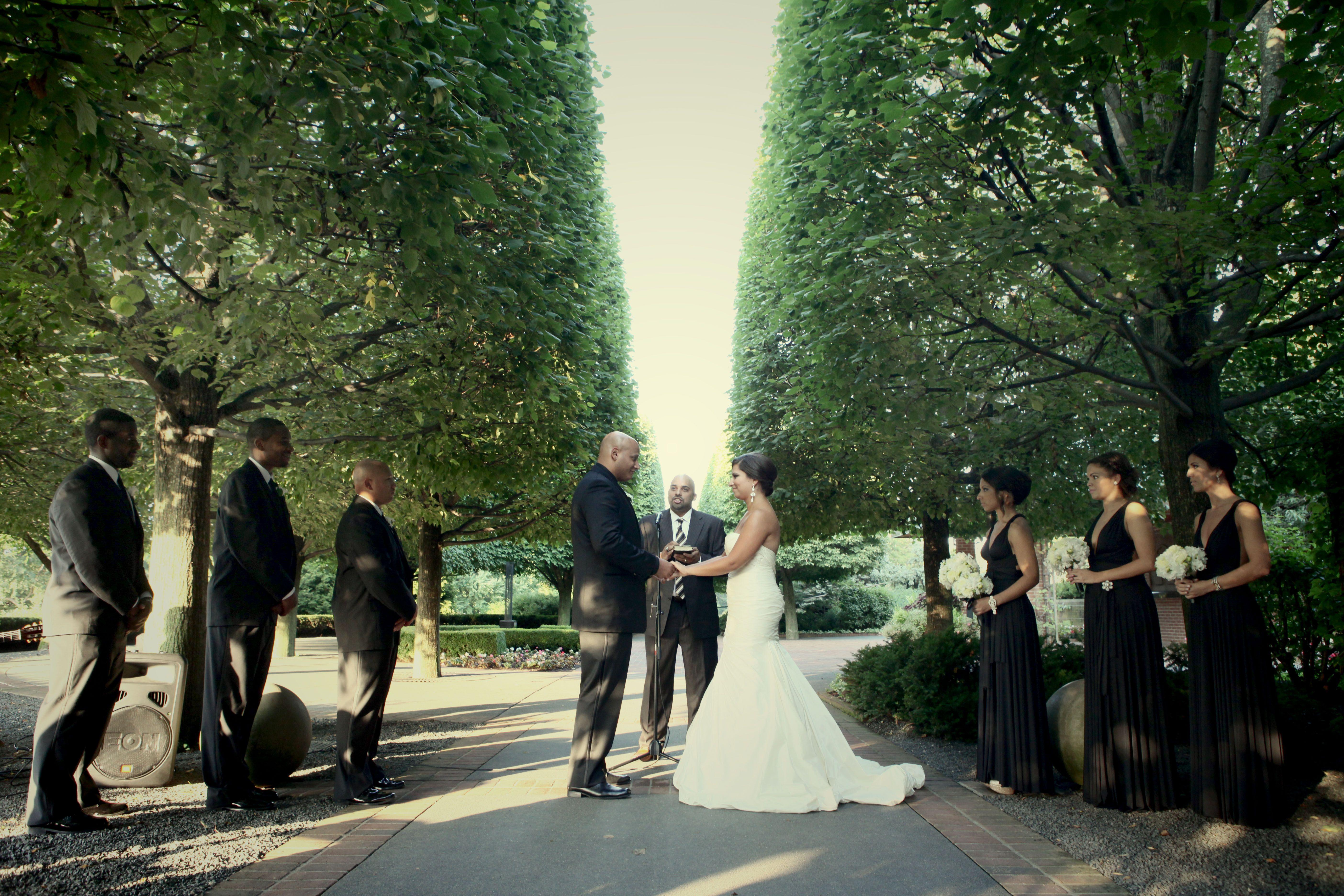 Wedding At The Chicago Botanic Garden Weddings And Events Pinterest Wedding Rehearsal