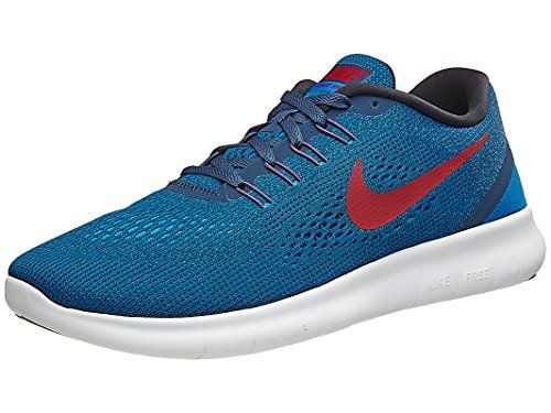 Nike Mens Free Running Shoes Squadron Blue/Gym Red/Blue Spark/Black) - Get  Deals & Coupons