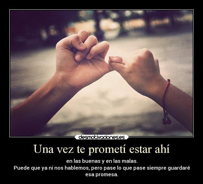 Carteles Promesas Guardar Amistad Amor Distancia