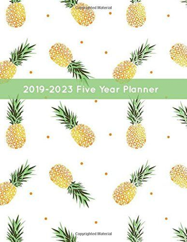 2019 2023 five year planner 60 monthly calendar at a glance 5 year