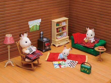sylvanian families cosy living room furniture amazing - Sylvanian Families Living Room Set