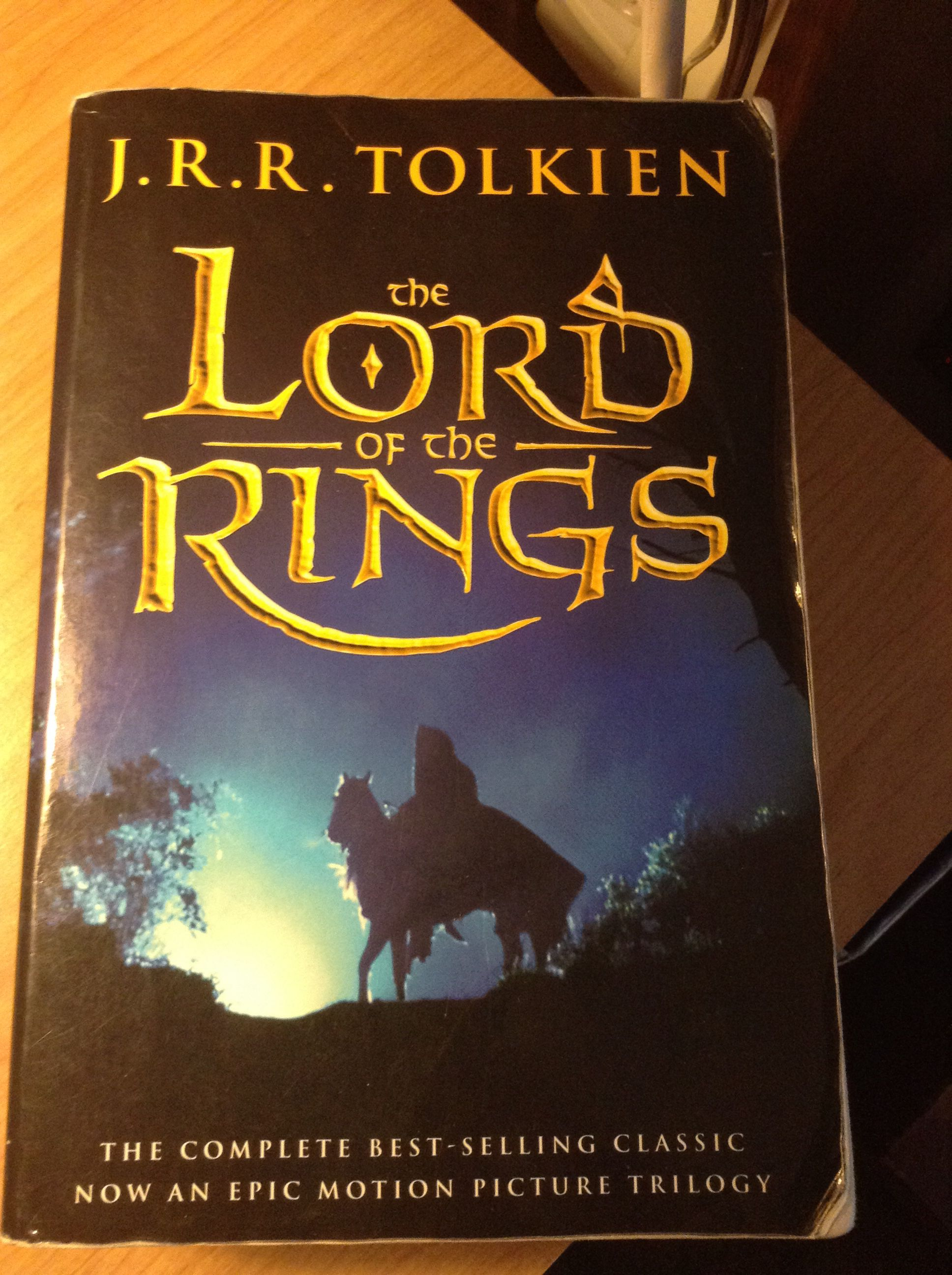 The Lord Of The Rings By Jrr Tolkien The Books Are So Much Better Than