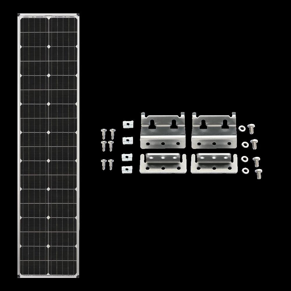 Zamp Solar 90w Deluxe Expansion Kit Long Amp Narrow Series
