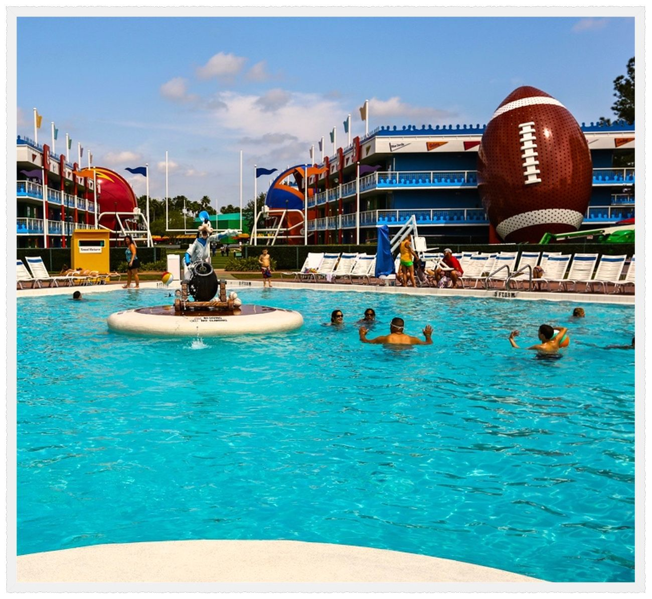 Orlando Florida Disneys AllStar Sports Resort is a