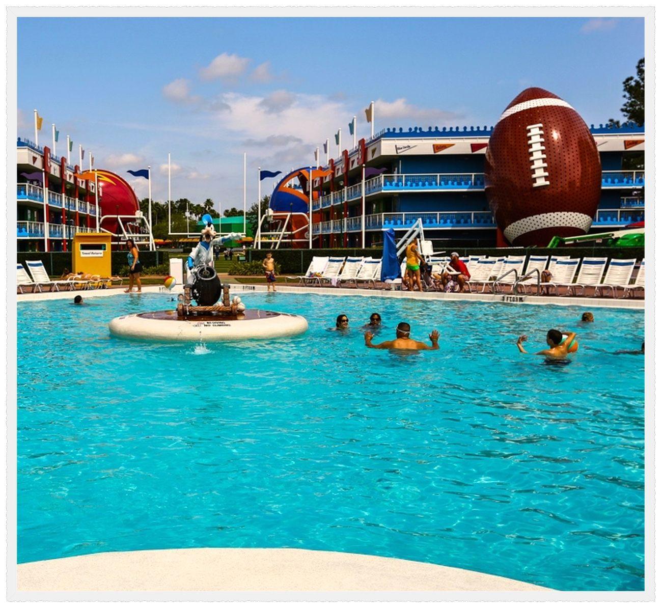 Orlando, Florida Disney's AllStar Sports Resort is a