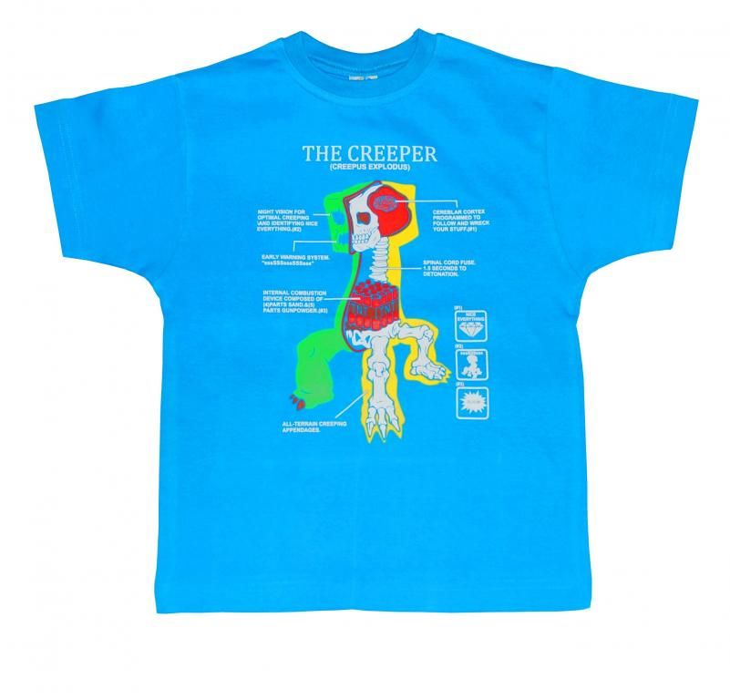 T Shirt Gracza Minecraft Creeper 152 Pl Nowosc T Shirt Shirts Mens Tops
