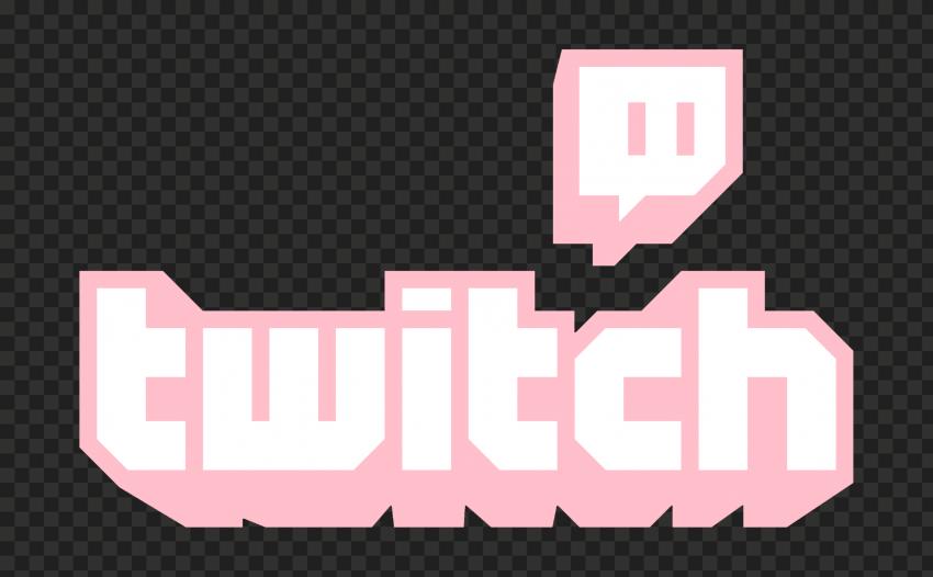 Hd Light Pink Twitch Logo Transparent Background Png In 2021 Transparent Background Logos Transparent