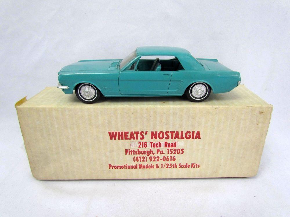 Vintage 1965 Ford Mustang Blue Dealer Promo 1 25 Scale Promotional Amt Model Model Hobbies Ford Motor Company Car Model