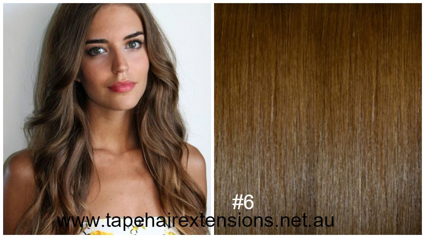6 Light Brown Hair Extensions We Supply The Worlds Best Quality