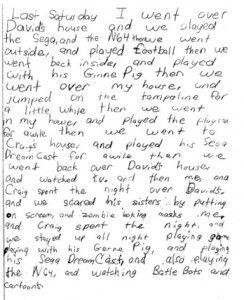 teaching narrative writing 3rd grade