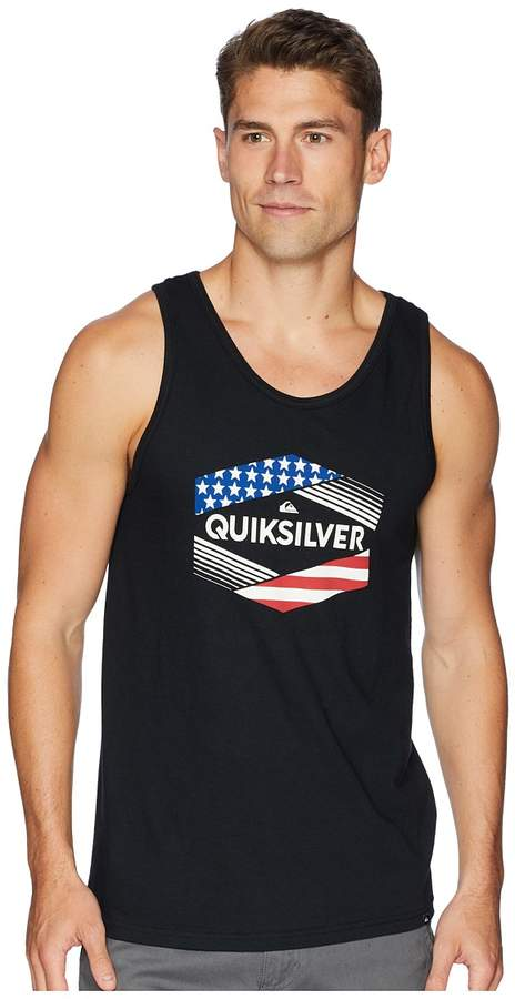 18ea6714073ce Quiksilver Stars Stripes Tank Top Men s Sleeveless