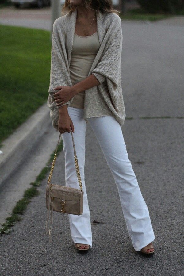 White jeans in the fall...oh yes I will.