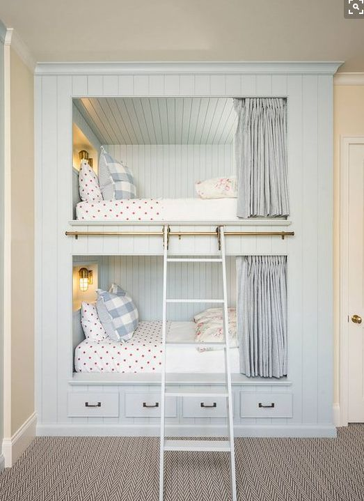 Built In Bunk Beds for Kids | Most Pinteresting Thing of the Week ...