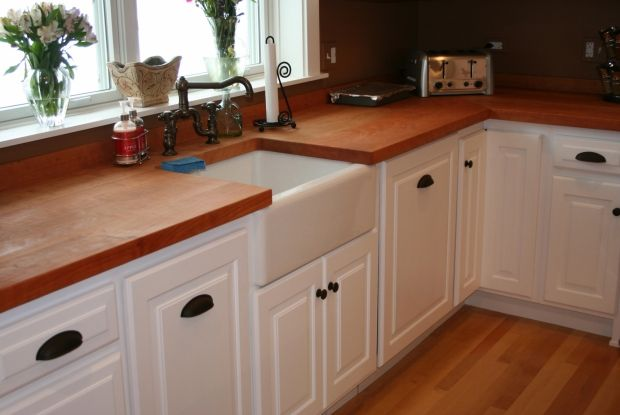 Contemporary L Shaped Walnut Kitchen White Cabinets 20 000 Or