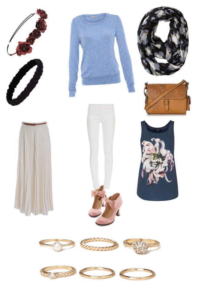 """""""Untitled #51"""" by froyolover002 ❤ liked on Polyvore featuring Forever 21, Alice & You, Jolie Moi, Betsey Johnson, Mantaray, Tamara Mellon, VILA, women's clothing, women's fashion and women"""