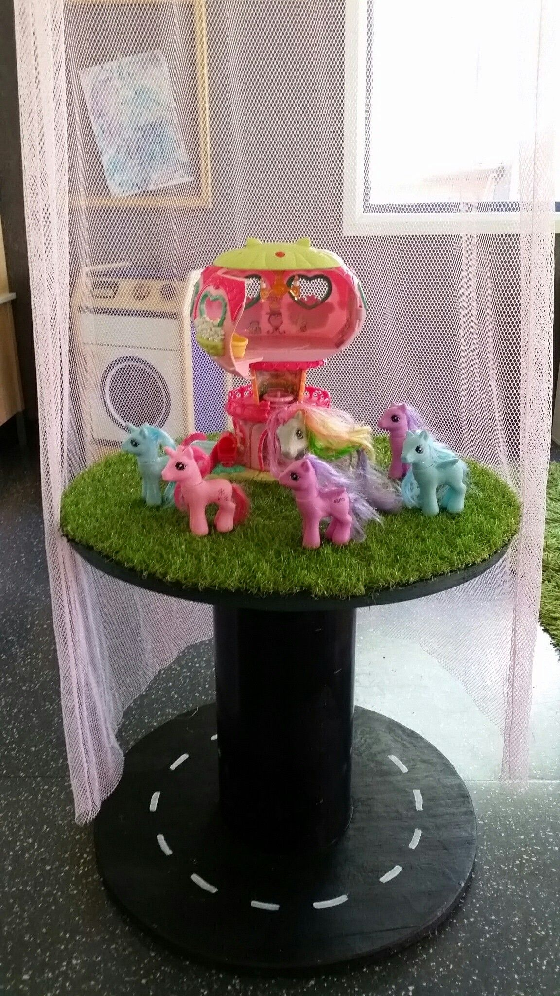Cable Wheel Early Childhood My little pony garden