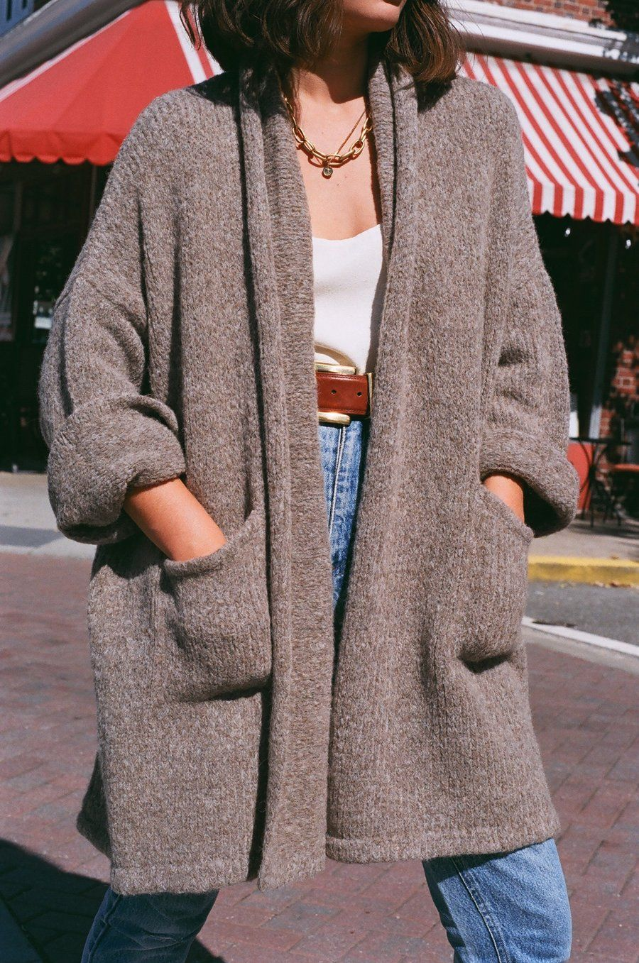 Atelier Delphine Haori Alpaca Sweater Coat / Multiple Colors Available