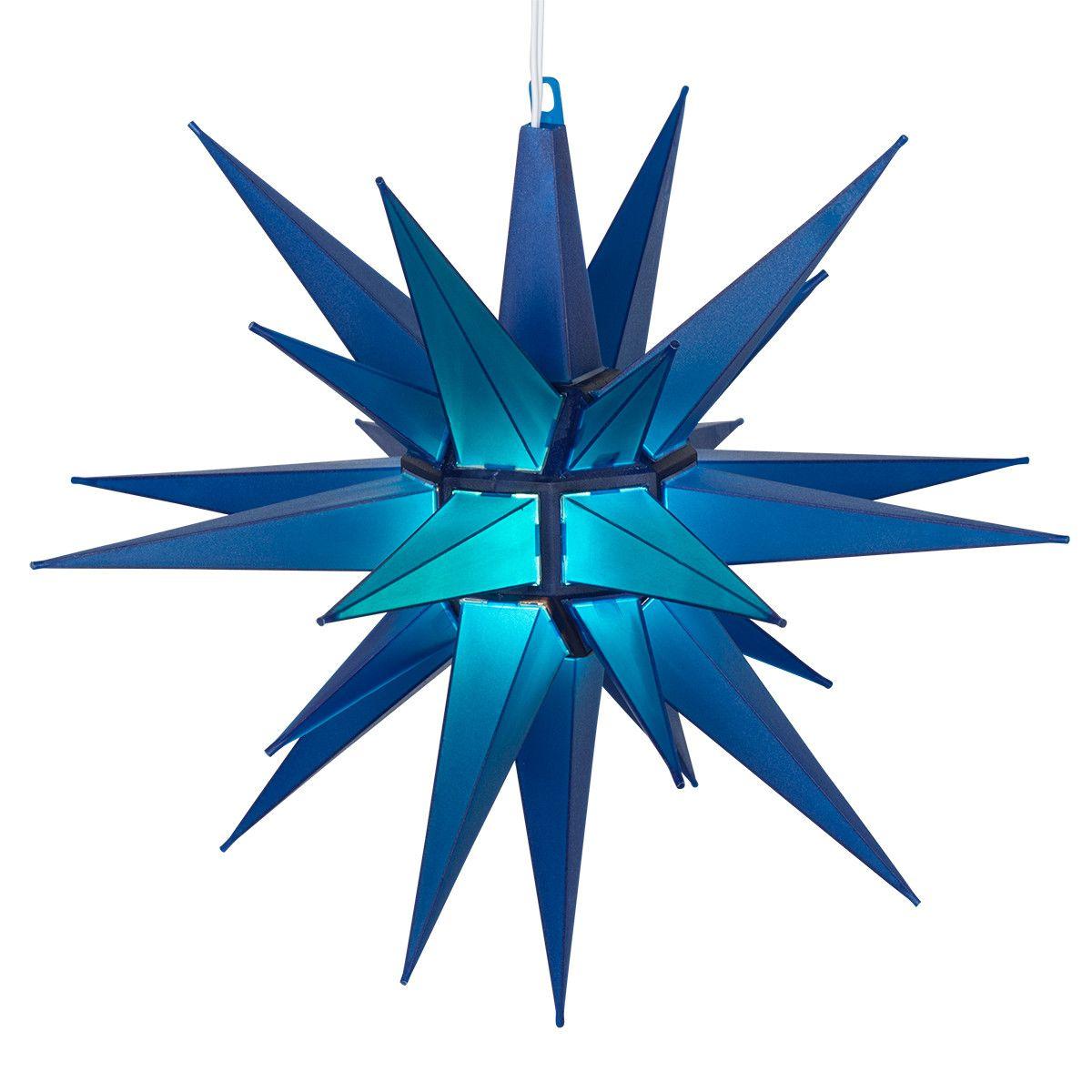 Moravian Stars - Blue LED Moravian Star - Christmas Lights Etc  sc 1 st  Pinterest & 14