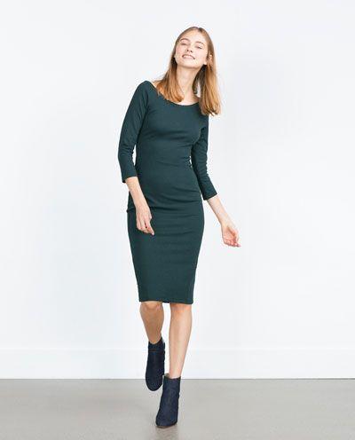 Zara figurbetontes kleid