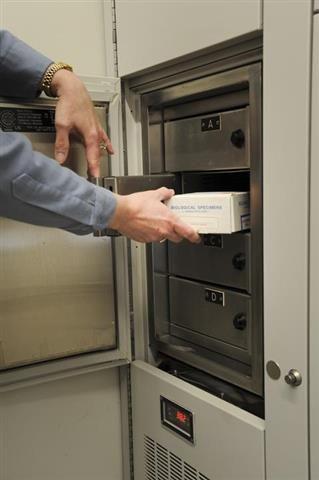 Biological Evidence Storage At Skokie Police Department (Skokie, Illinois).